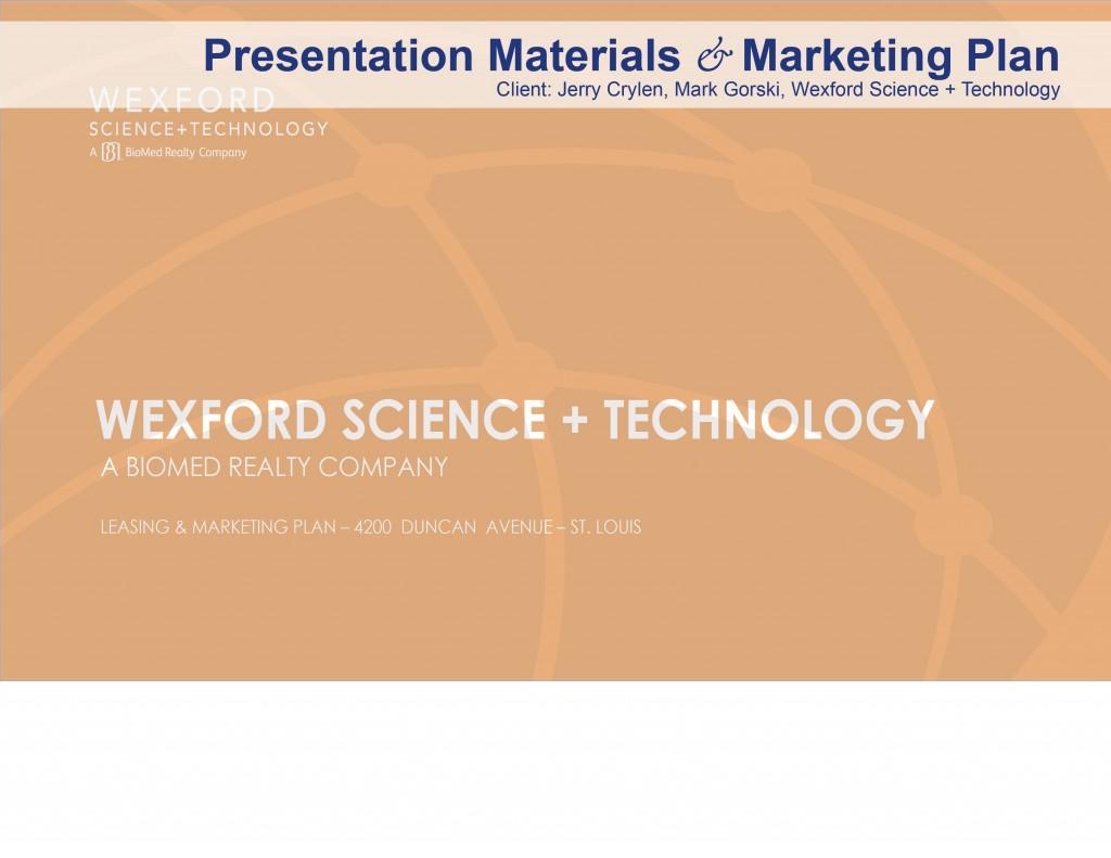 presentation and marketing plan formulation