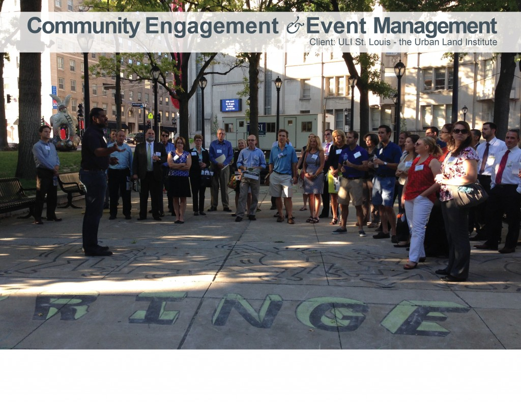 community and member engagement for ULI St. Louis the urban land institute